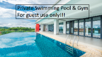Private Swimming Pool & Gym 16Pax In Cyberjaya