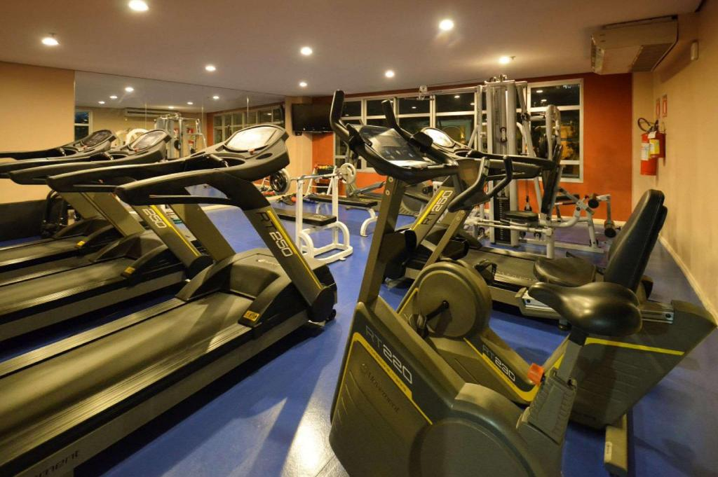 Gimnasio Quality Suites Long Stay Bela Cintra