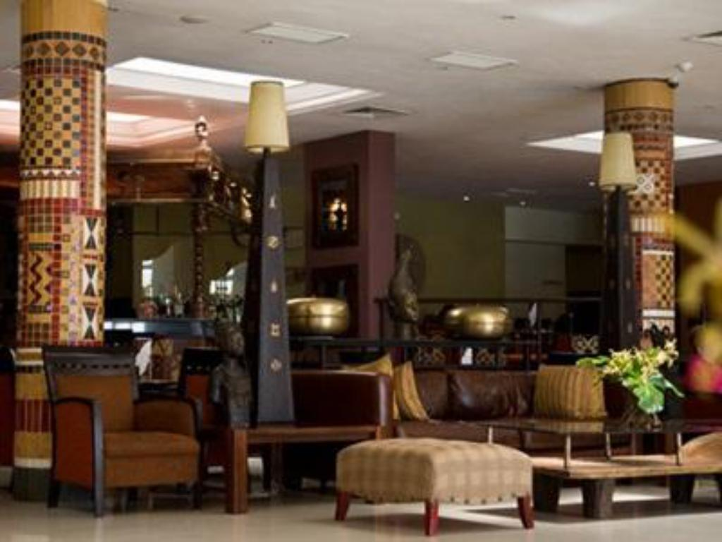 Interior view The African Regent Hotel
