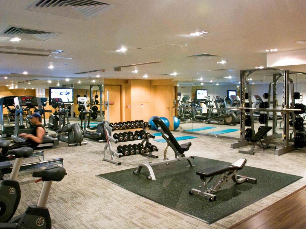 Fitness center Novotel Nathan Road Kowloon Hotel
