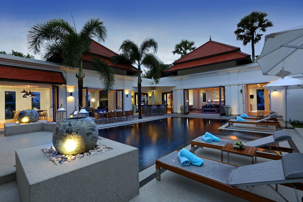 Luxury 4 Bedrooms Private Pool Villa