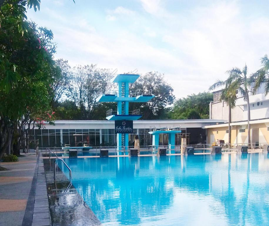 Swimmingpool Graha Residen Serviced Apartments
