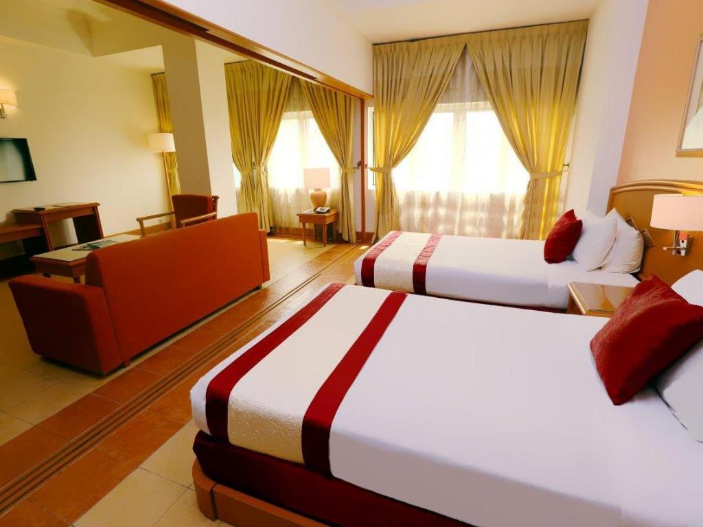 Interior view M Suites Hotel