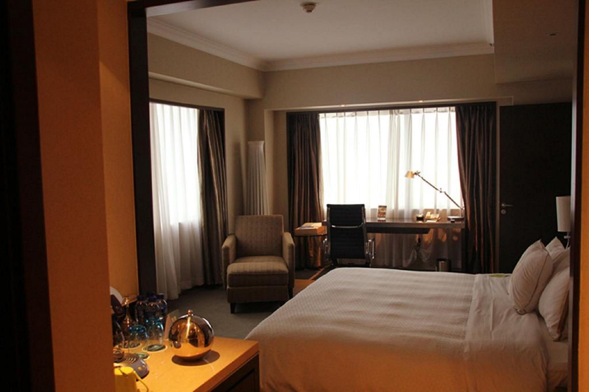 Executive Room, Club lounge access, Guest room, 1 King