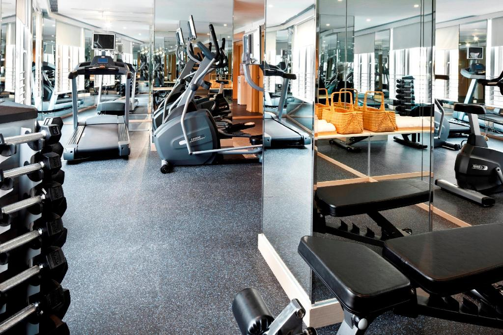 Fitness center Dorsett Mongkok Hong Kong