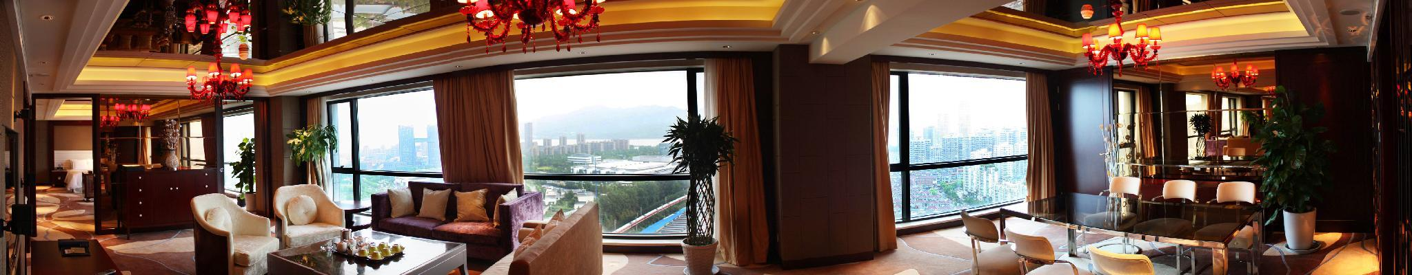 Diplomatic Suite, 2 Bedroom Presidential Suite, City view