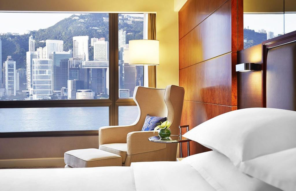 Deluxe Harbour King - 景觀 香港喜來登酒店 (Sheraton Hong Kong Hotel And Towers)