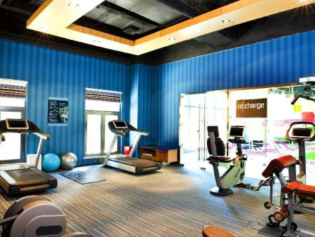 Fitness center Aloft Beijing, Haidian