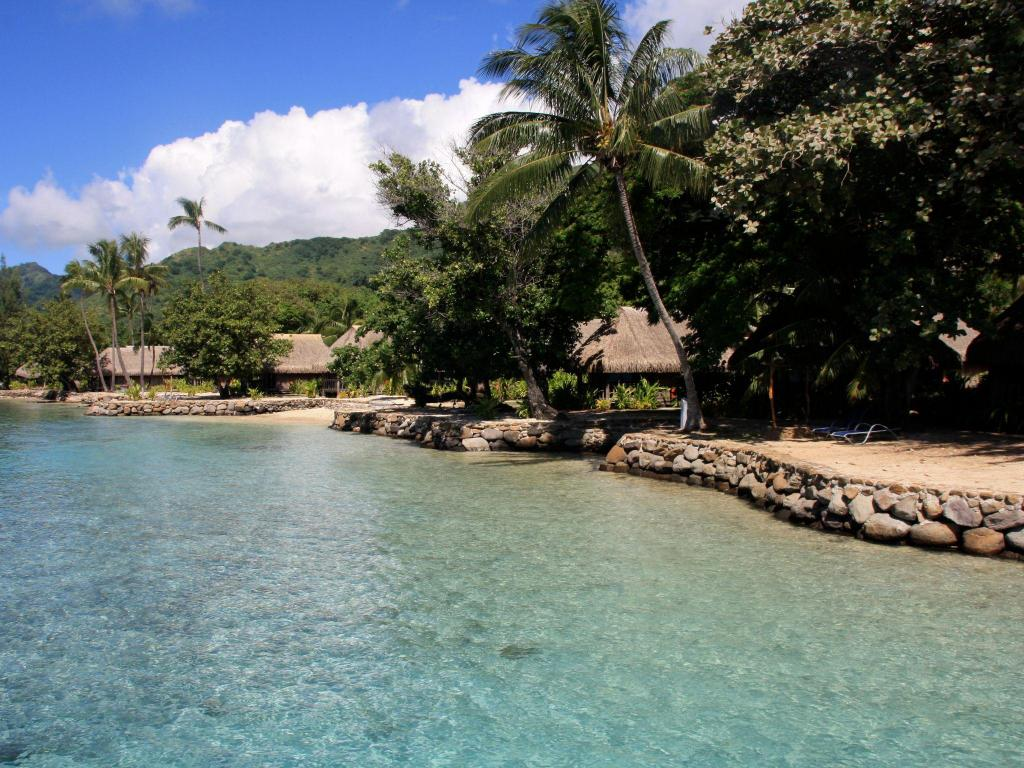 ビーチ Sofitel Kia Ora Moorea Beach Resort