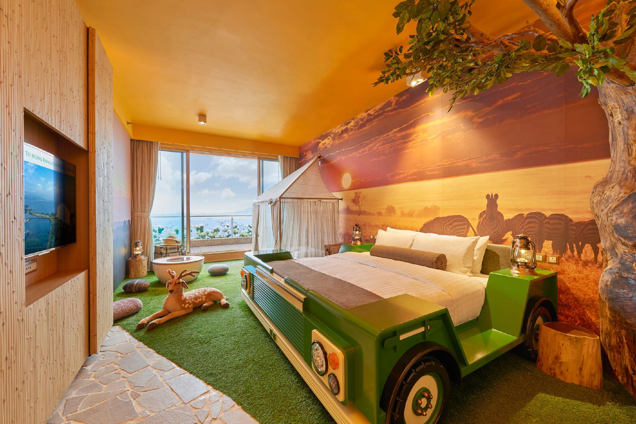 "Cameră ""Safari"" cu balcon cu vedere la mare (Safari Room with Sea View Balcony)"