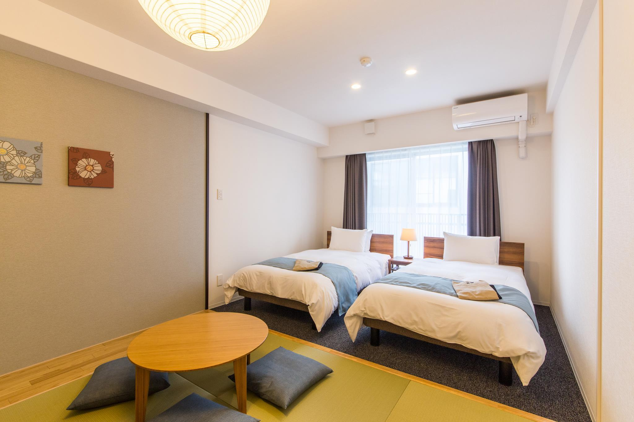 Japanese Western Style Room for 4 People