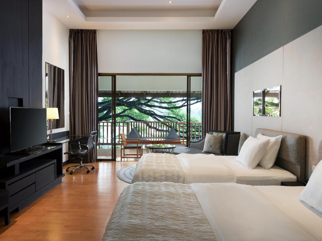 Deluxe Garden View, Guest room, 2 Twin/Single Bed(s) - เตียงนอน