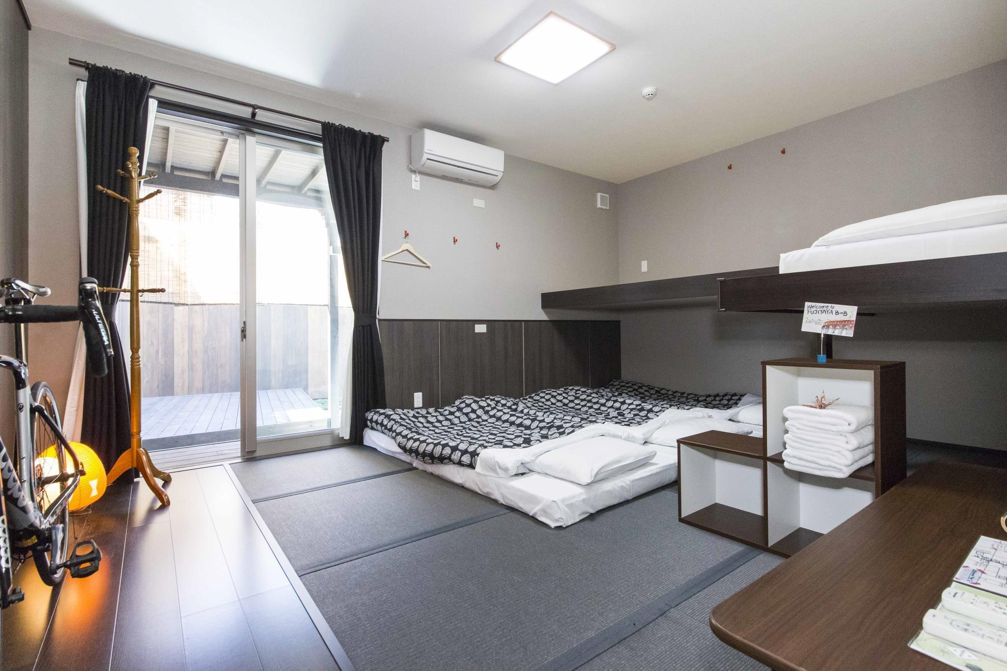 Deluxe Japanese Style Room for 3 People