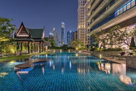 Swimming pool [outdoor] The Athenee Hotel A Luxury Collection Hotel Bangkok
