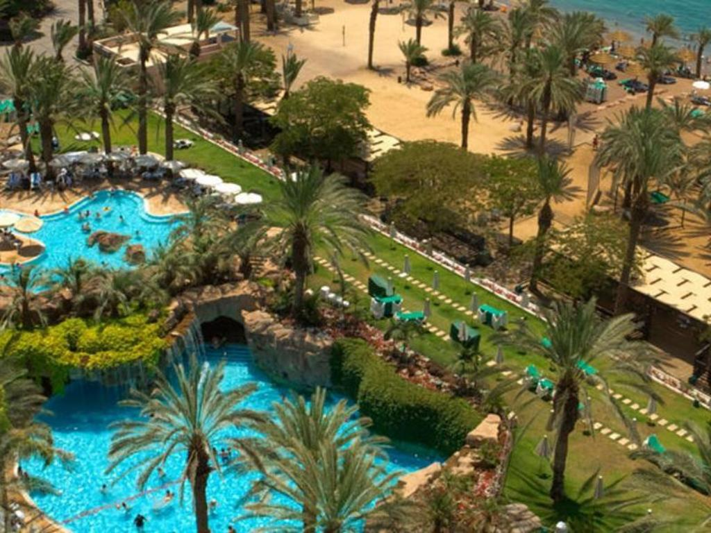 North Beach Map and Hotels in North Beach Area – Eilat