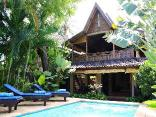 2bed Beachfront Pool house at Lovina Beachhouse Villas