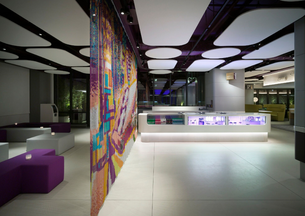 Interior view Yotel - Times Square