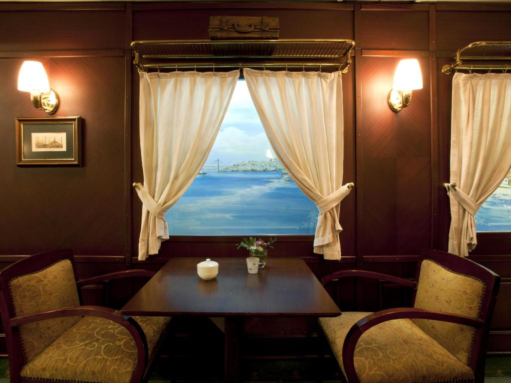 Interior view Orient Express Hotel
