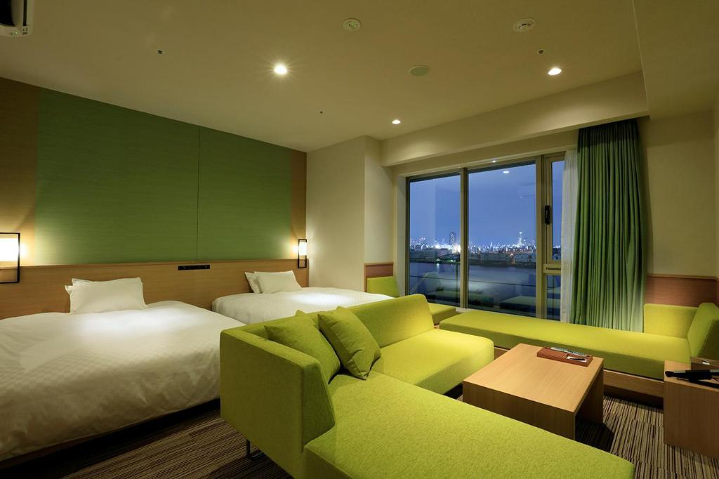 The Singulari Deluxe Twin Room - Non-Smoking - Room plan The Singulari Hotel & Skyspa at Universal Studios Japan™