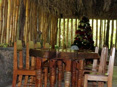 Interior view Orchid Garden Eco-Village Hotel Belize