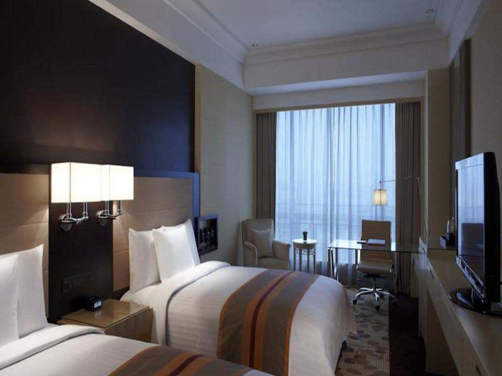 Executive dengan Pemandangan Kota Courtyard by Marriott Shanghai Central