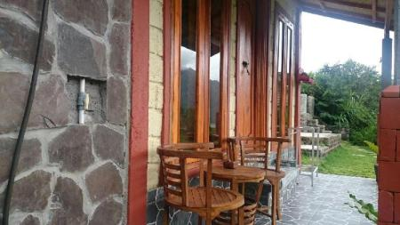 1 Bed in 6 Bedded Dormitory Black Lava Hostel Kintamani