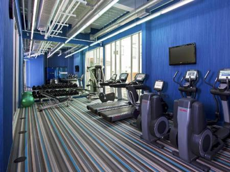 fitness centrum Aloft Milwaukee Downtown