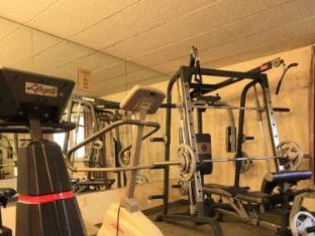 Fitness center Americas Best Value Inn And Suites Pittston