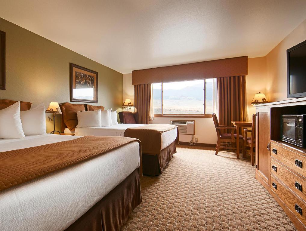 2 llits grans - Llit Best Western By Mammoth Hot Springs