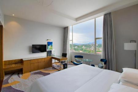 City View Suite, 1 Bedroom Suite, 1 King, City view - Bed Four Points by Sheraton Manado