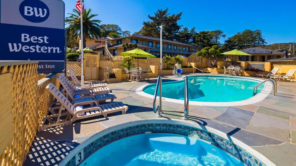 Best western park crest inn in monterey ca room deals - Best hotel swimming pools in california ...