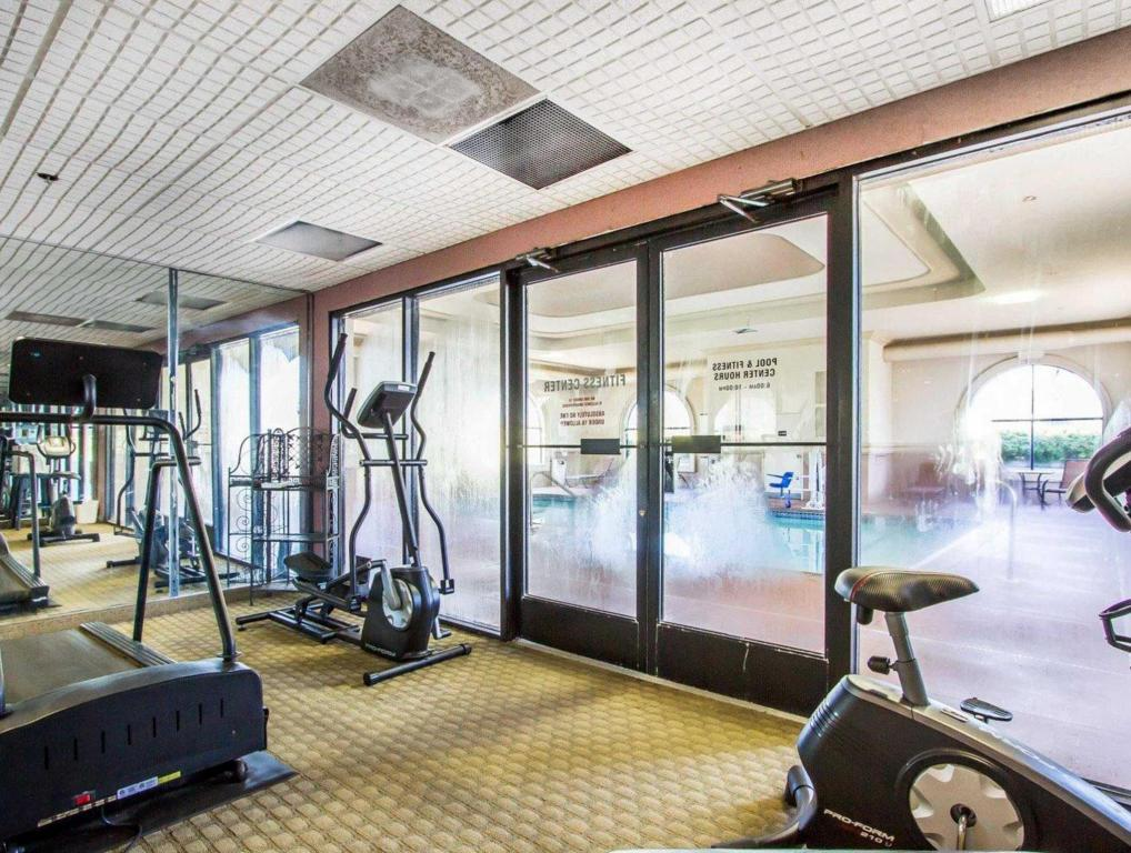 Fitness center Comfort Inn