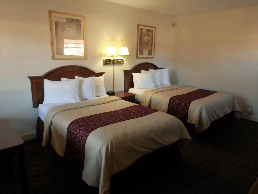 Deluxe 1 Queen/1 Twin Bed Non-Smoking - Gulta Red Roof Inn & Suites Hazleton