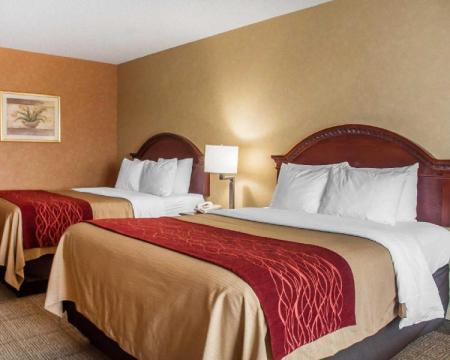 Queen Room with Two Queen Beds - Non-Smoking Comfort Inn Near Walden Galleria Mall