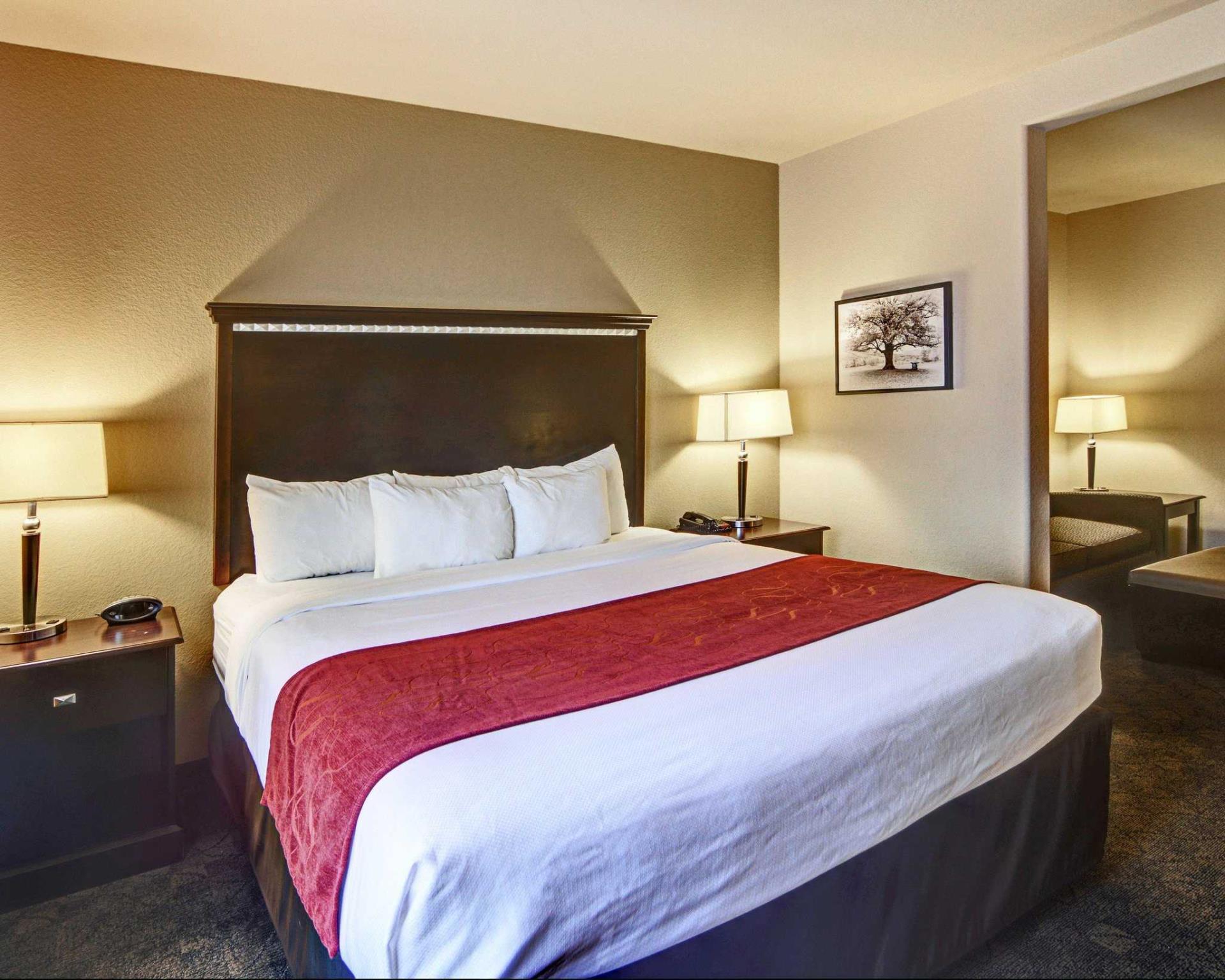 comfort suites arlington tx from 79 save on agoda. Black Bedroom Furniture Sets. Home Design Ideas