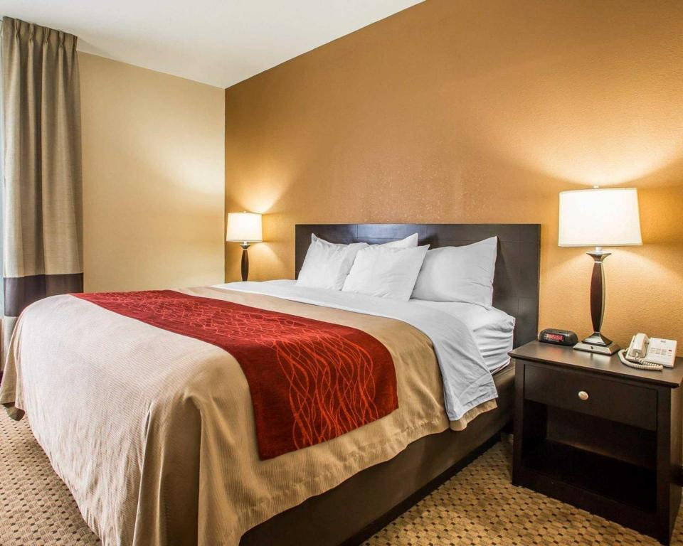 Standard with 1 King Bed Comfort Inn and Suites Kenosha