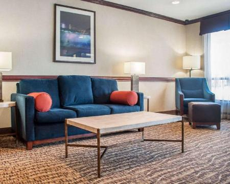 Lobby Comfort Inn Near Walden Galleria Mall