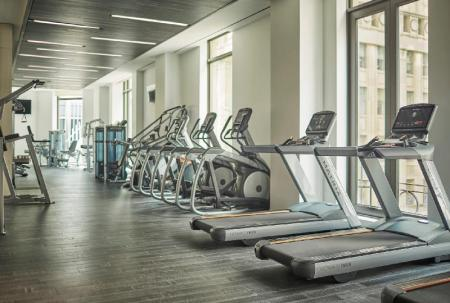 Fitness center Four Seasons Hotel New York Downtown