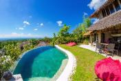 Le Bamboo Bali with Ocean View & Private Pool