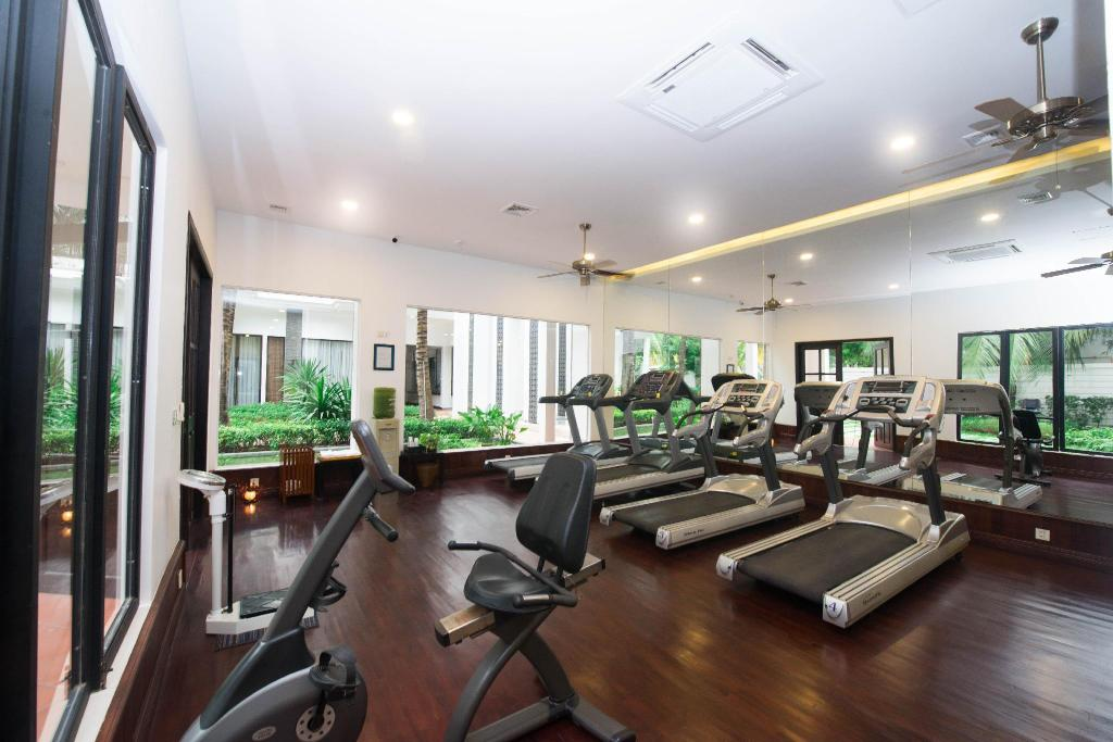 Fitness center Lotus Blanc Hotel