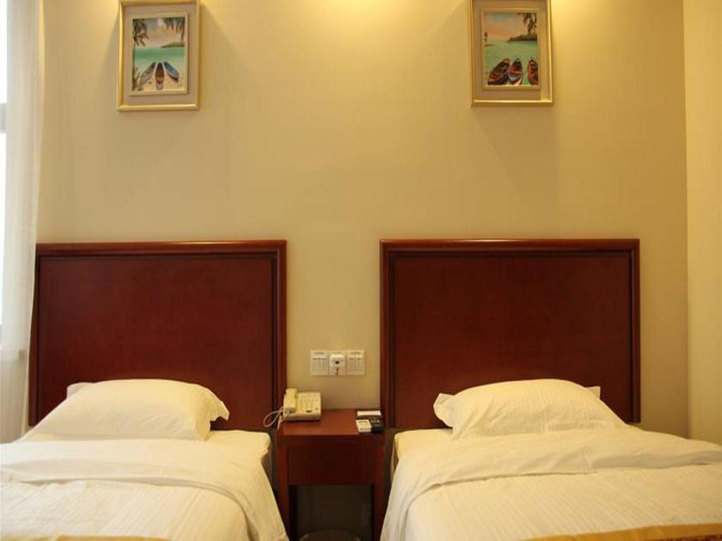Standard - Bett GreenTree Inn Chuzhou International Market Place Express Hotel