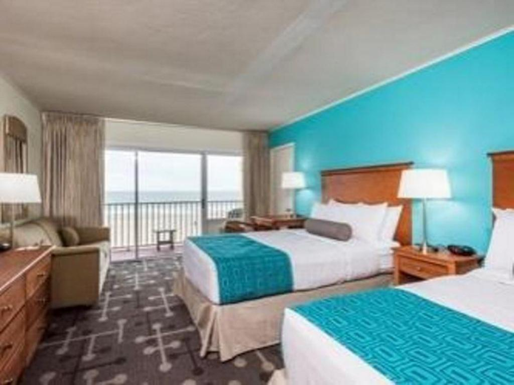 Gästrum Howard Johnson by Wyndham Ocean City Oceanfront