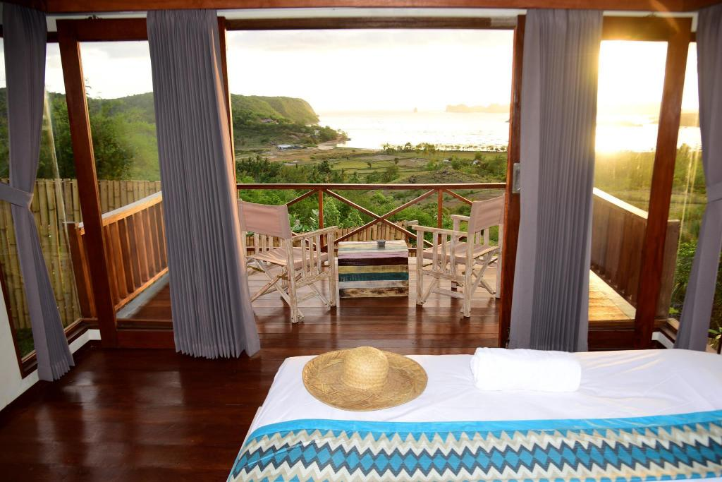 Double Room with Balcony and Sea View - Balcony Endless Summer Lombok