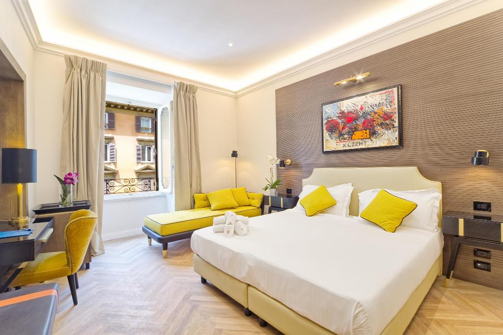 The k boutique hotel in rome room deals photos reviews for Best boutique hotels in rome 2015