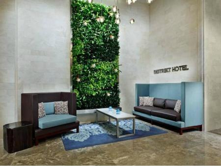 Lobby Distrikt Hotel New York City Tapestry Collection by Hilton
