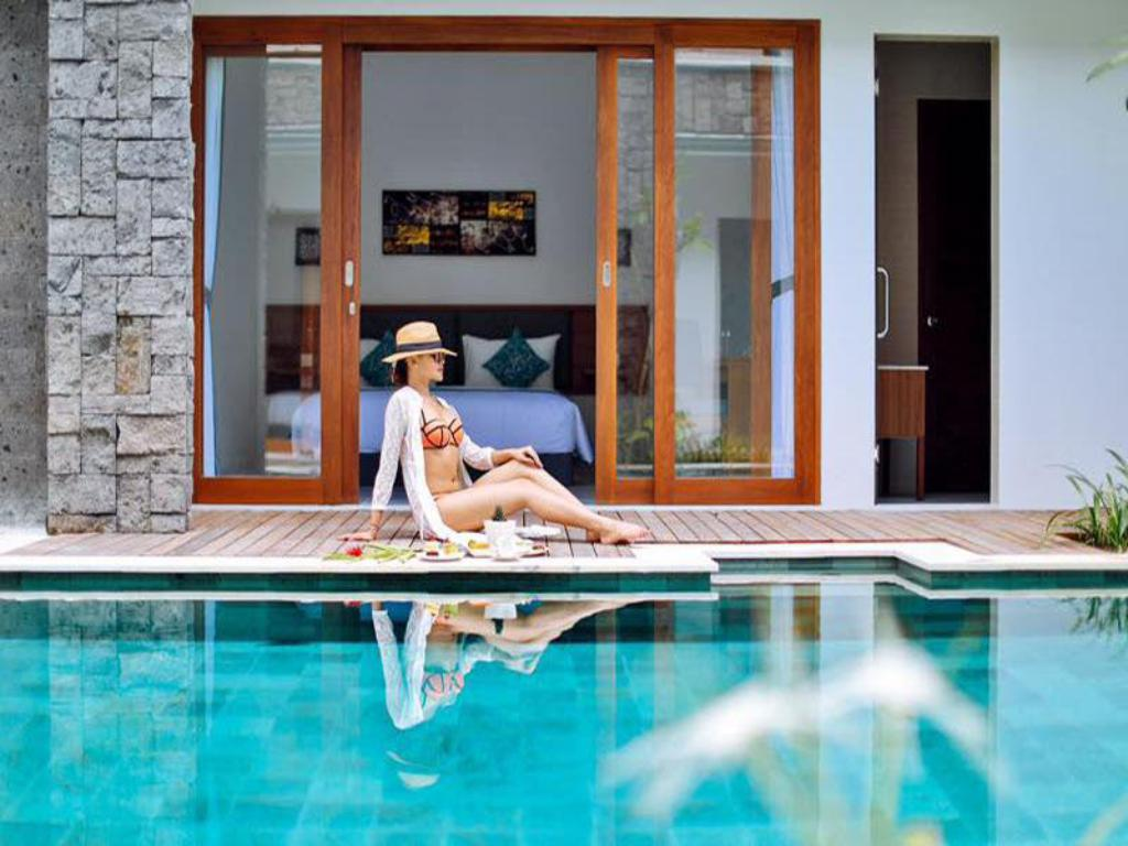 Swimming pool [outdoor] MAHANA BOUTIQUE APARTMENT