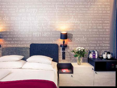Standard Double Bed - Guestroom Mercure Vienna First