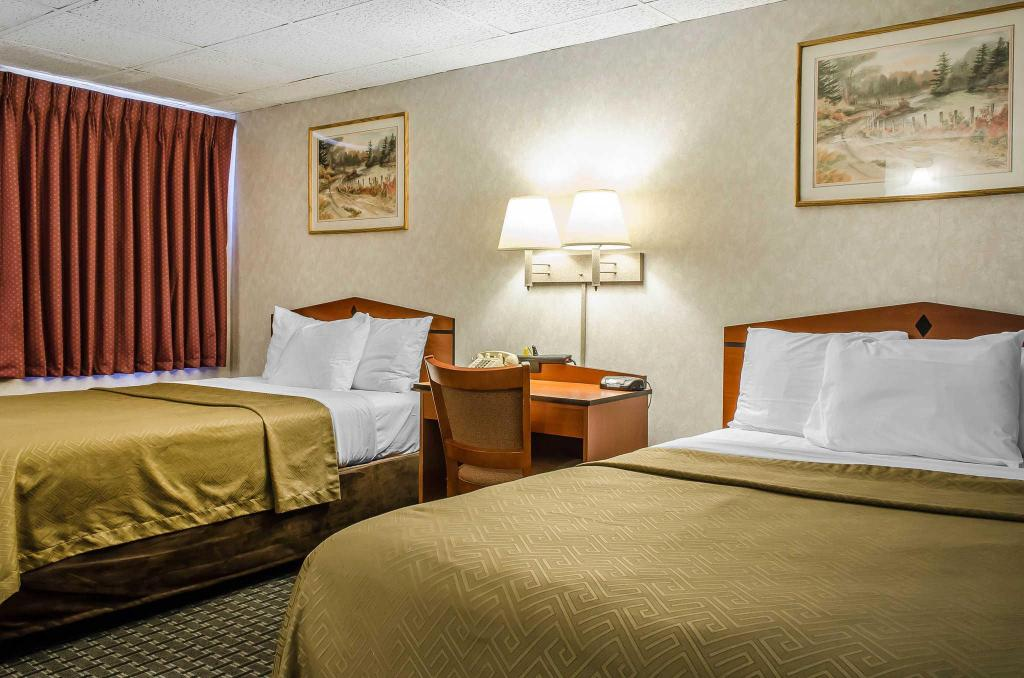 Double with 2 Double Beds - Non-Smoking Rodeway Inn State College - near University