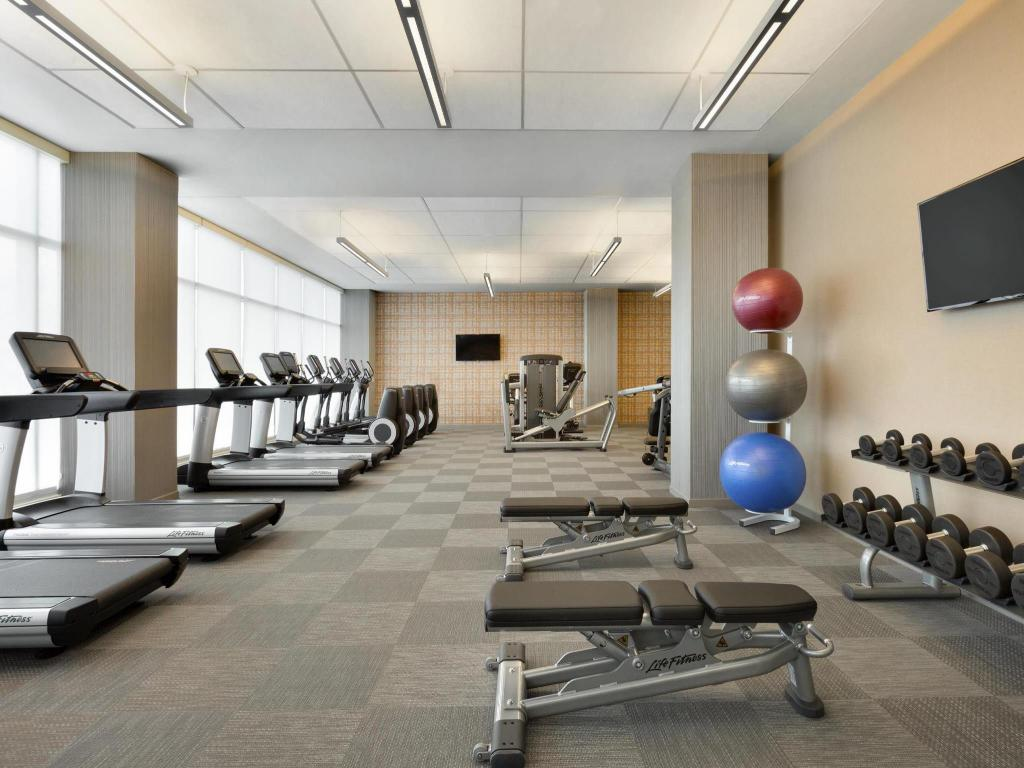Fitness center Aloft Dallas Love Field
