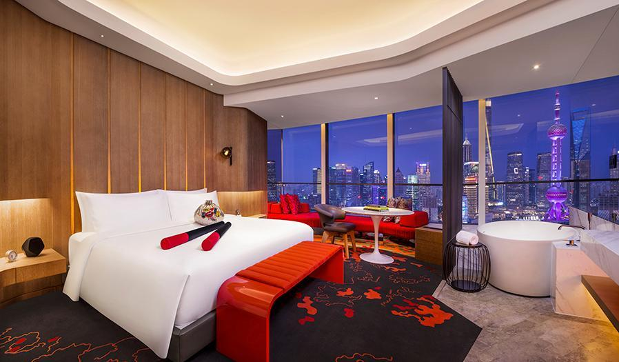 Fabulous Room, Guest room, 1 King, Bund view